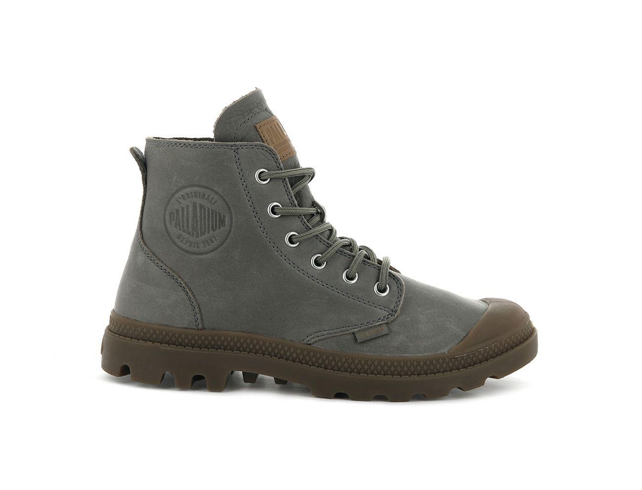 Palladium Pampa Hi Leather UL in Clay