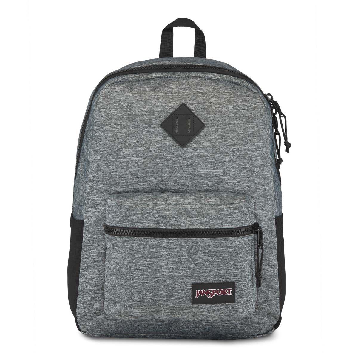 JanSport Sport FX Backpack in Black Woven Knit