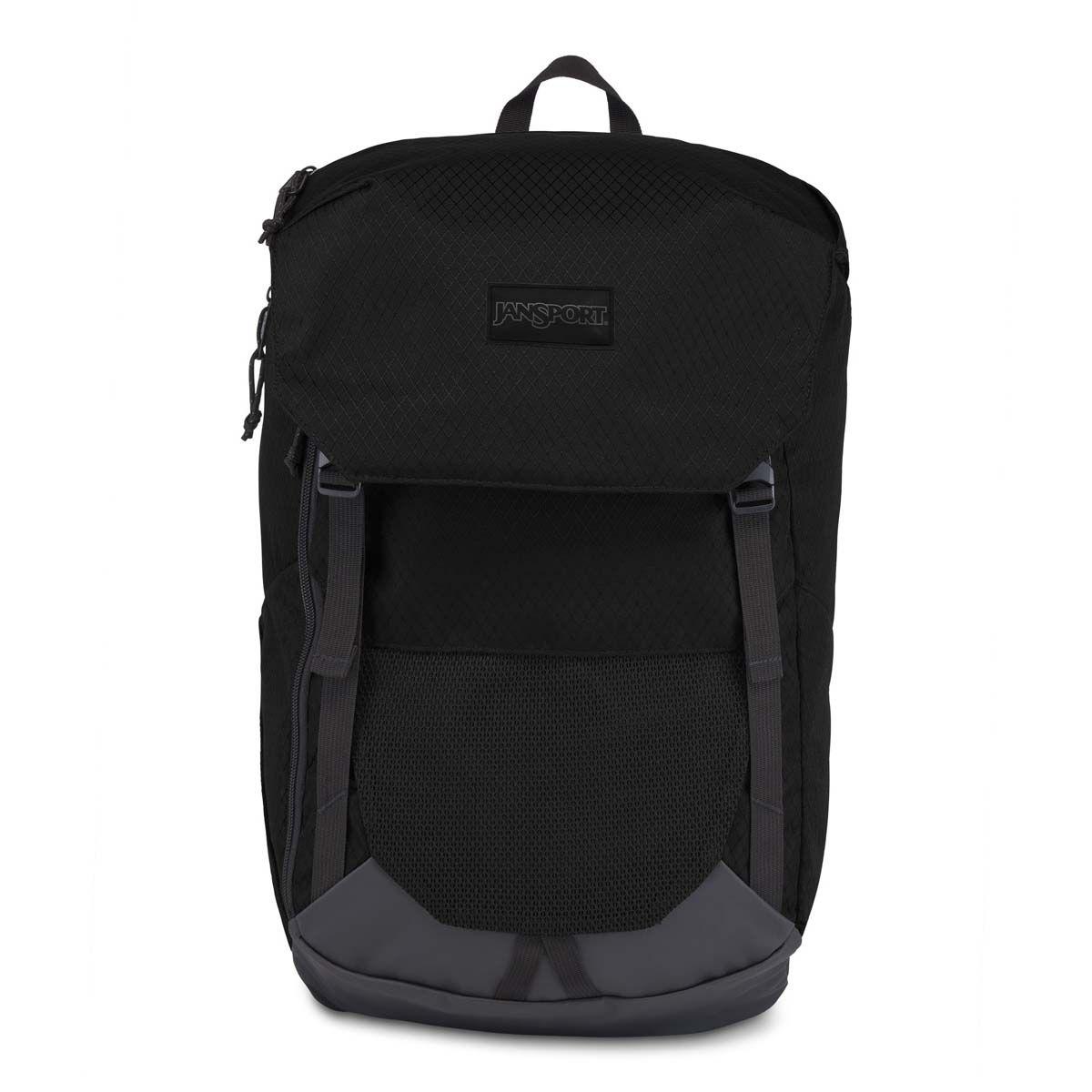 JanSport Seeker Backpack in Black Top