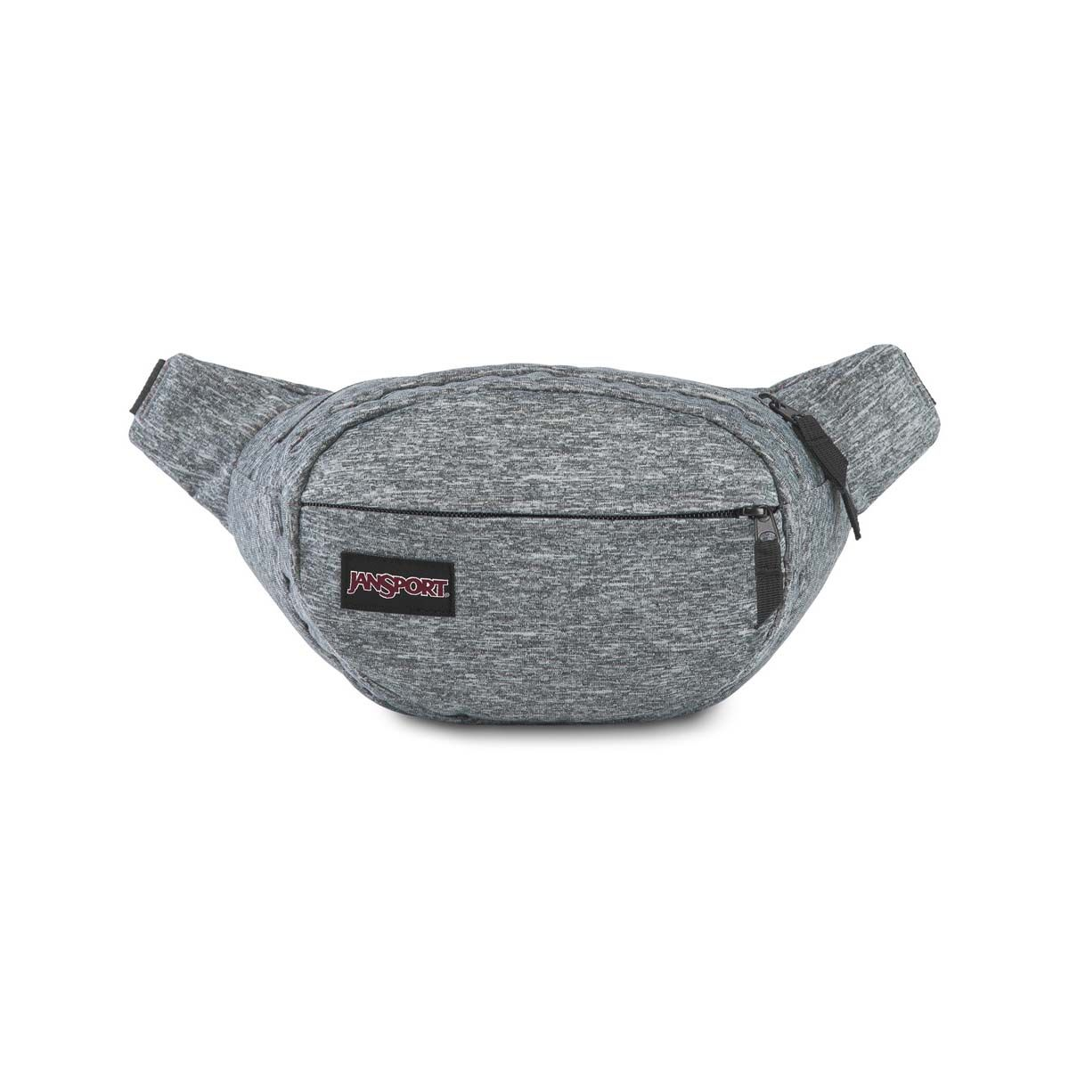 JanSport Fifth Ave FX Fanny Pack in Black Woven Knit