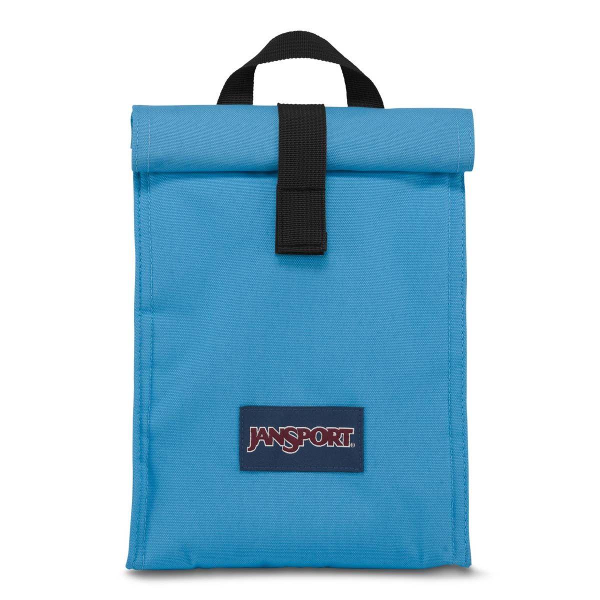 JanSport Rolltop Lunch Bag in Coastal Blue