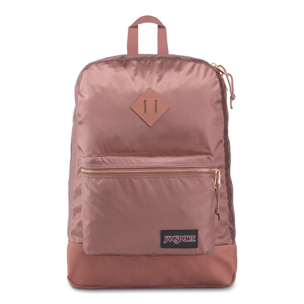 JanSport Super FX Backpack in Mocha Gold Premium Poly