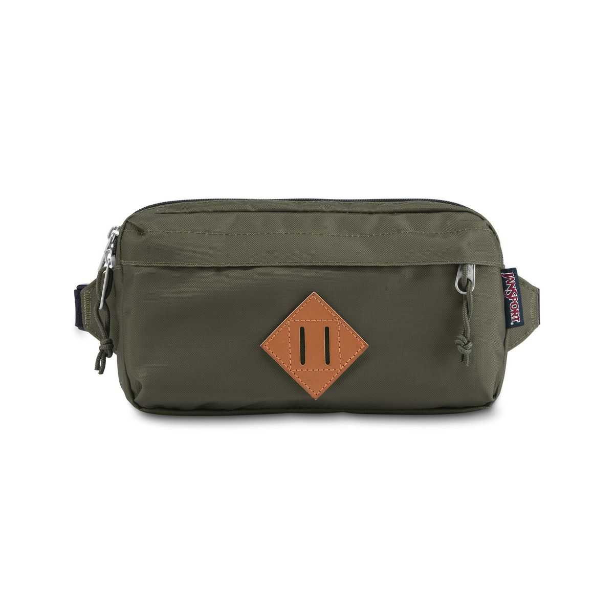 JanSport Waisted Fanny Pack in Green Machine