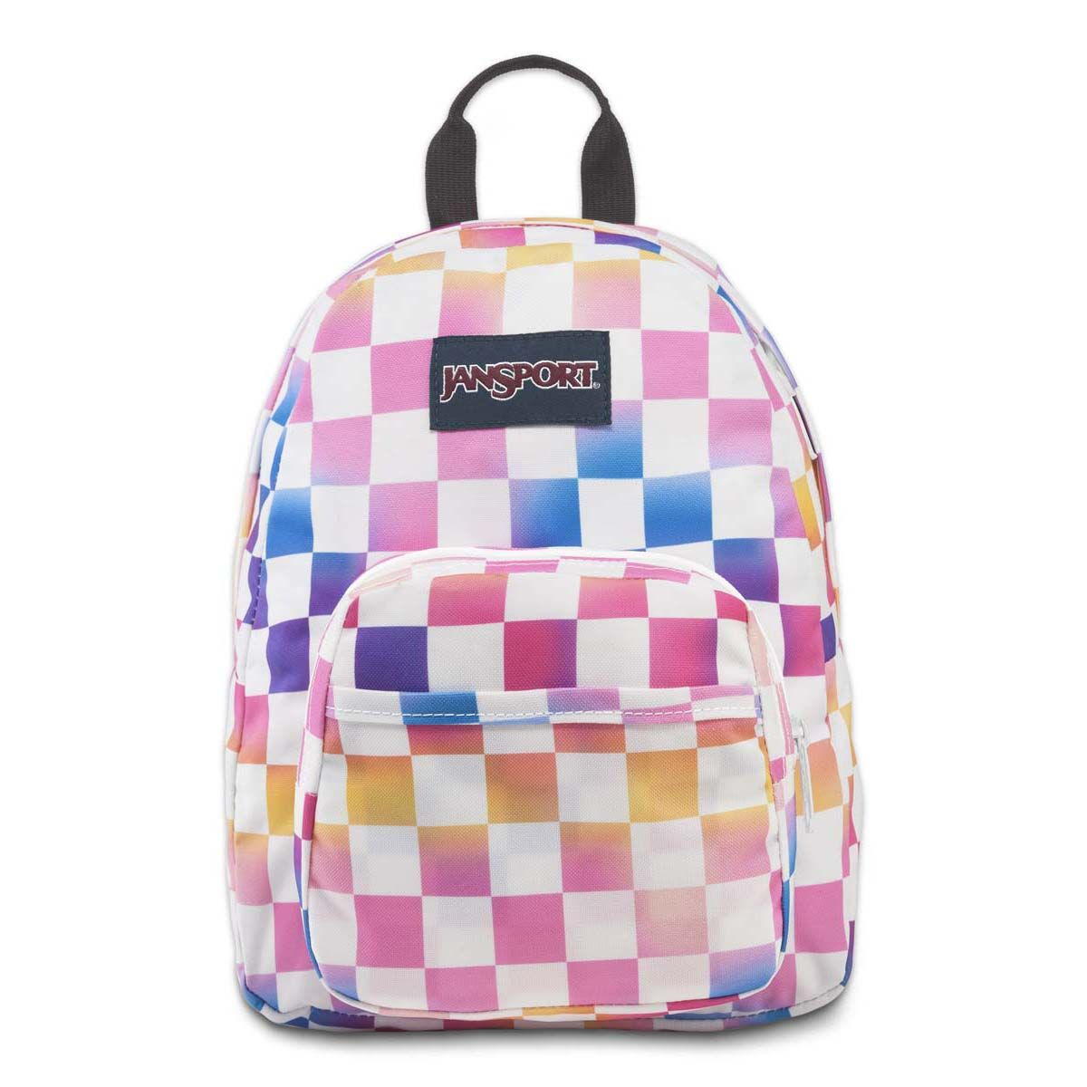 JanSport Half Pint Mini Backpack in Check It