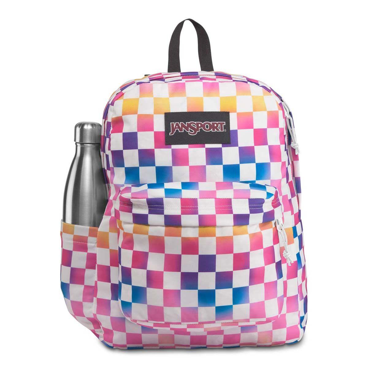 JanSport SuperBreak® Plus Laptop Backpack in Check It