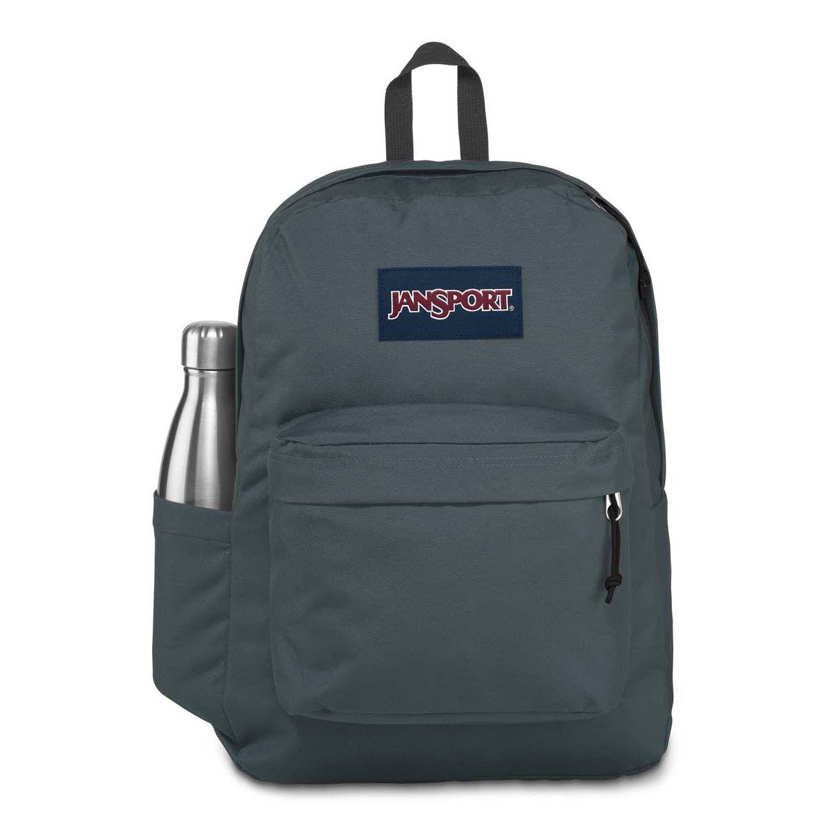 JanSport SuperBreak® Plus Laptop Backpack in Dark Slate Grey