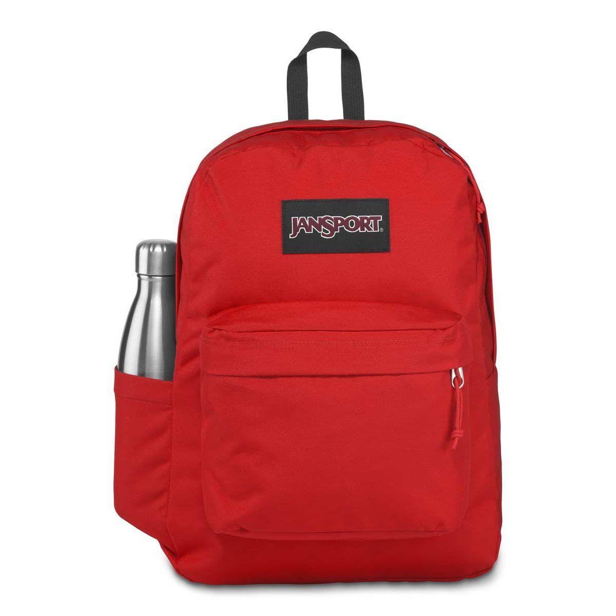 JanSport SuperBreak® Plus Laptop Backpack in Red Tape