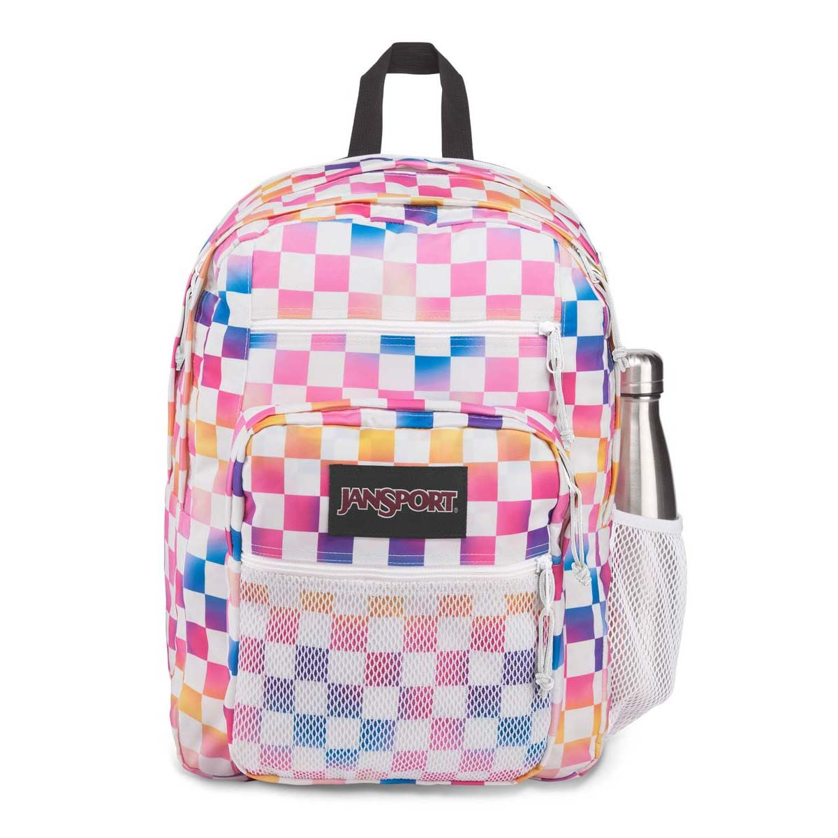 JanSport Big Campus Backpack in Check It
