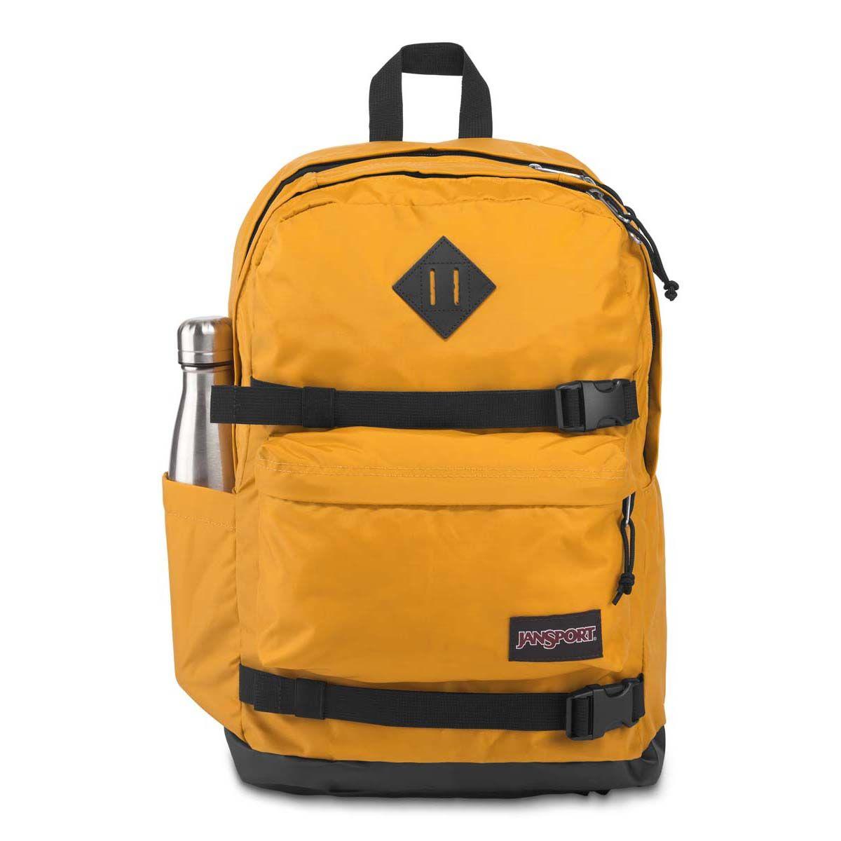 JanSport West Break Backpack in English Mustard