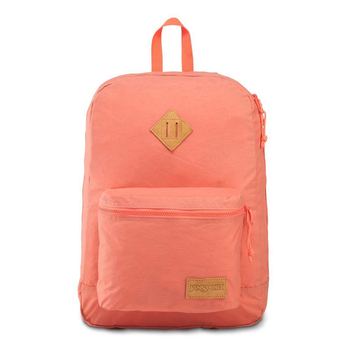 JanSport Super Lite Backpack in Crabapple/Sedona Sun