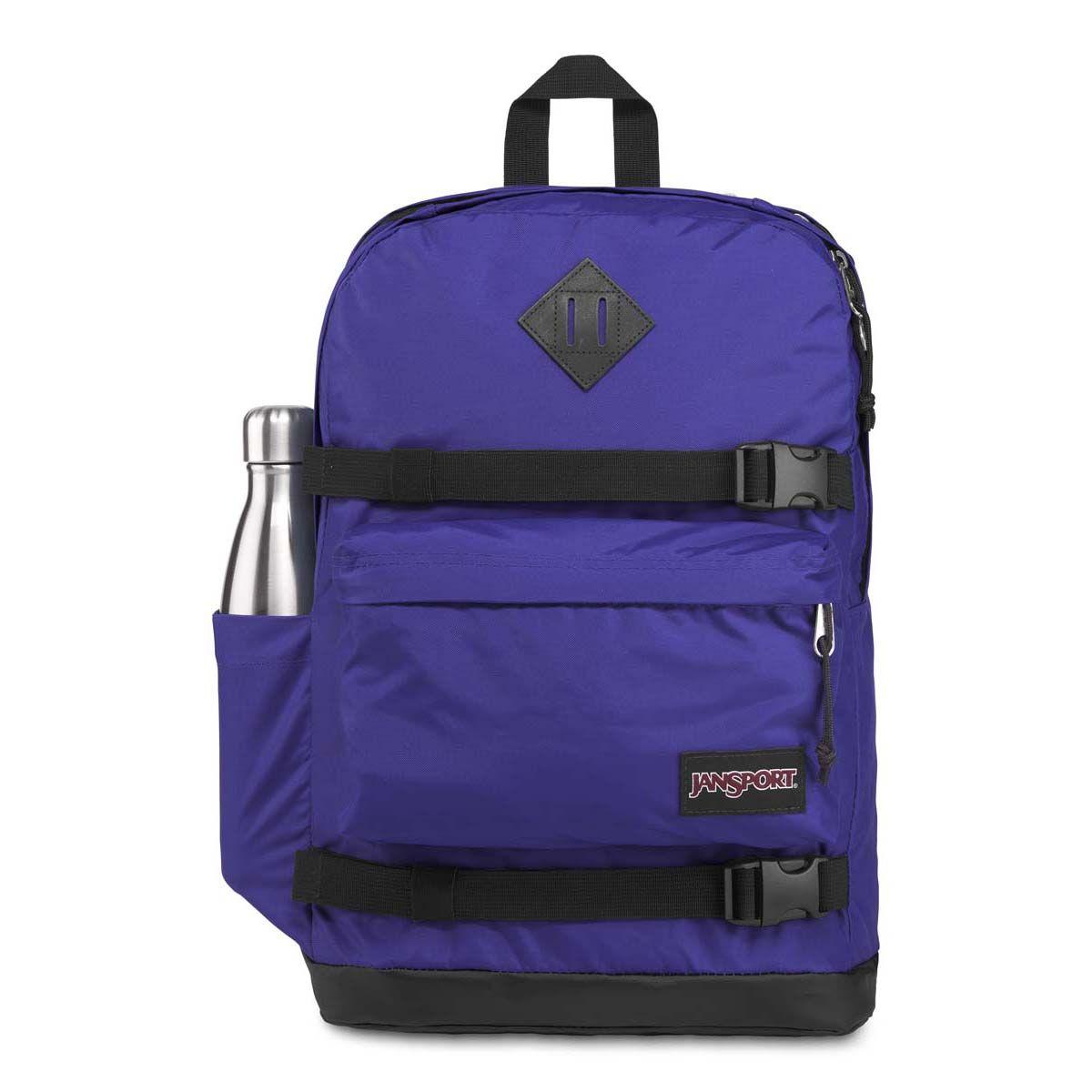 JanSport West Break Backpack in Violet Purple