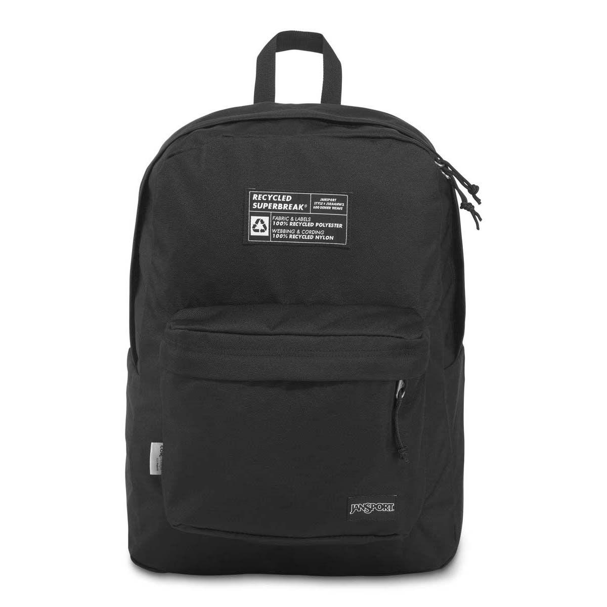 JanSport Recycled SuperBreak® Backpack in Black
