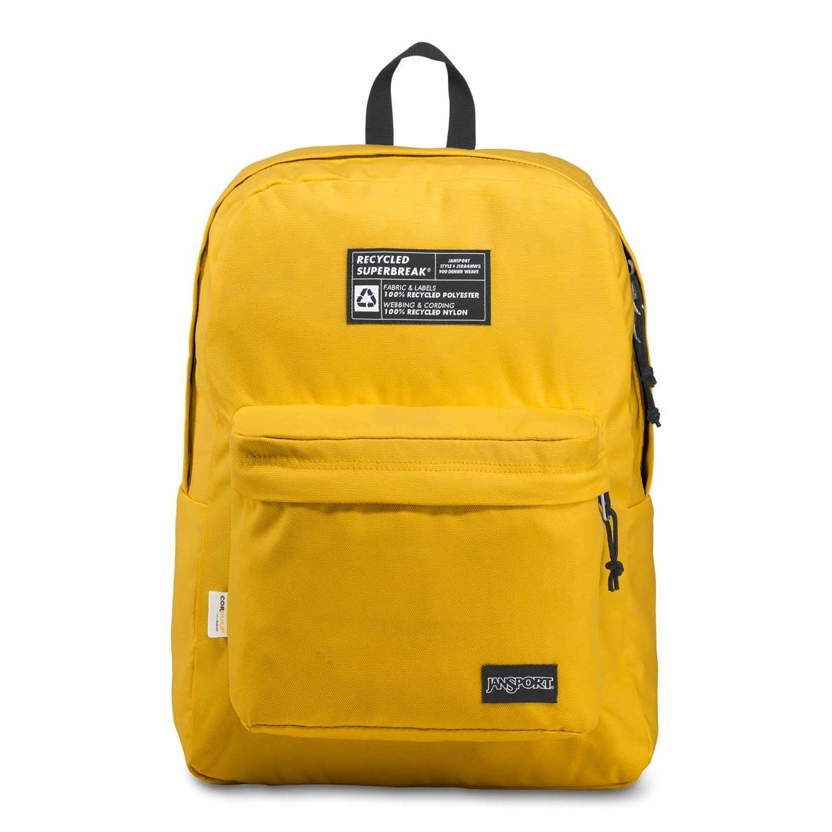 JanSport Recycled SuperBreak® Backpack in Yellow Card