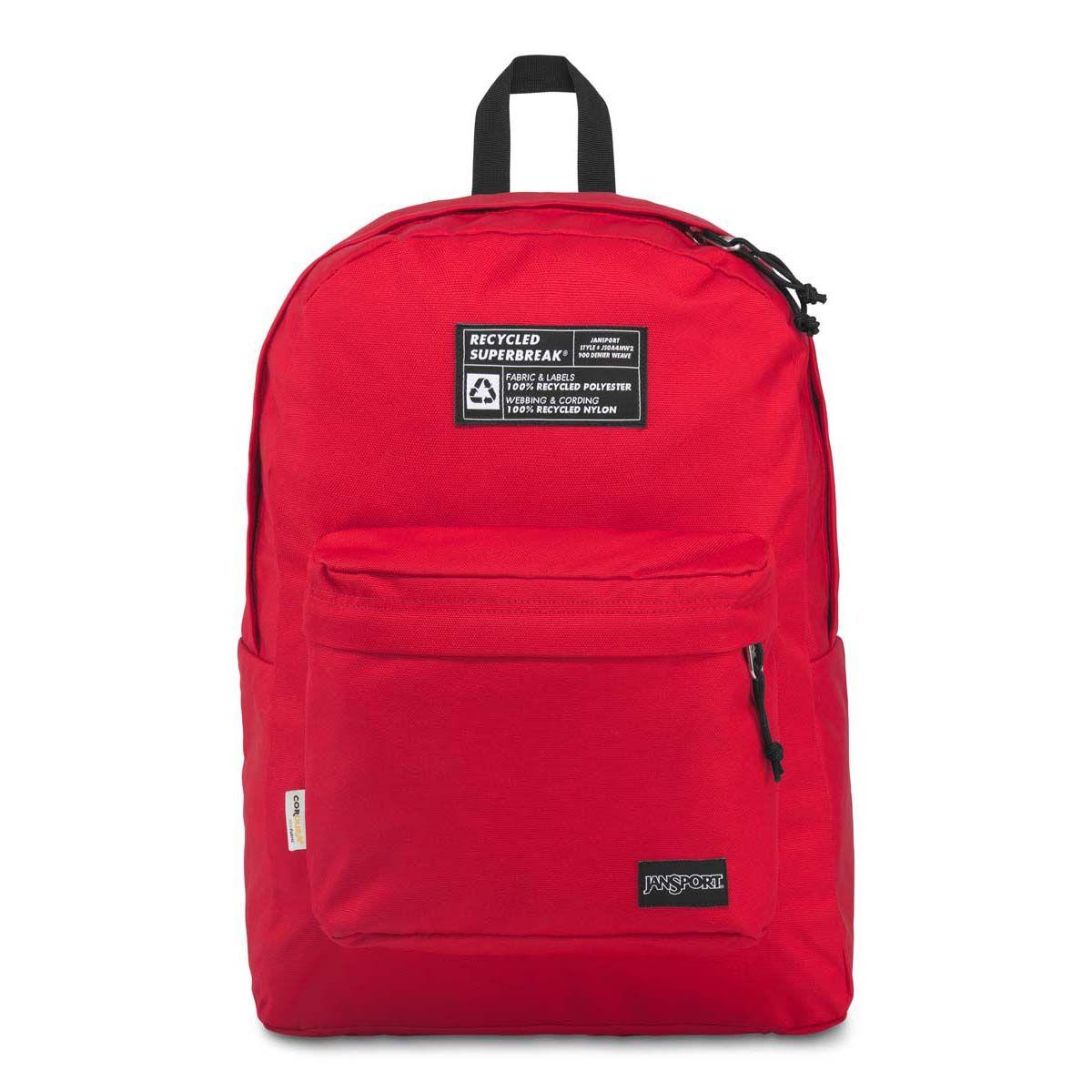 JanSport Recycled SuperBreak® Backpack in Red Tape
