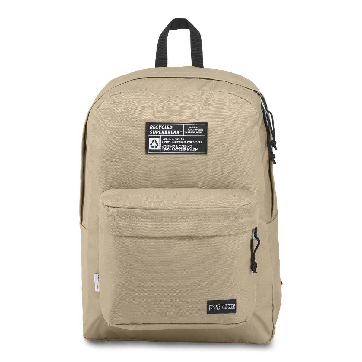 JanSport Recycled SuperBreak® Backpack in Oyster