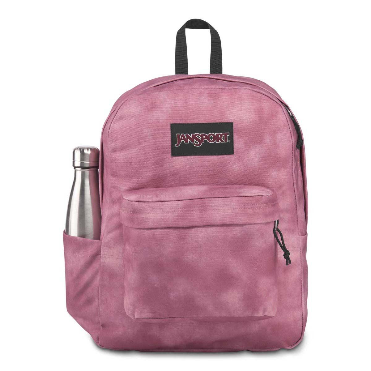 JanSport SuperBreak® Plus FX Backpack in Blackberry Mousse Cali Wash