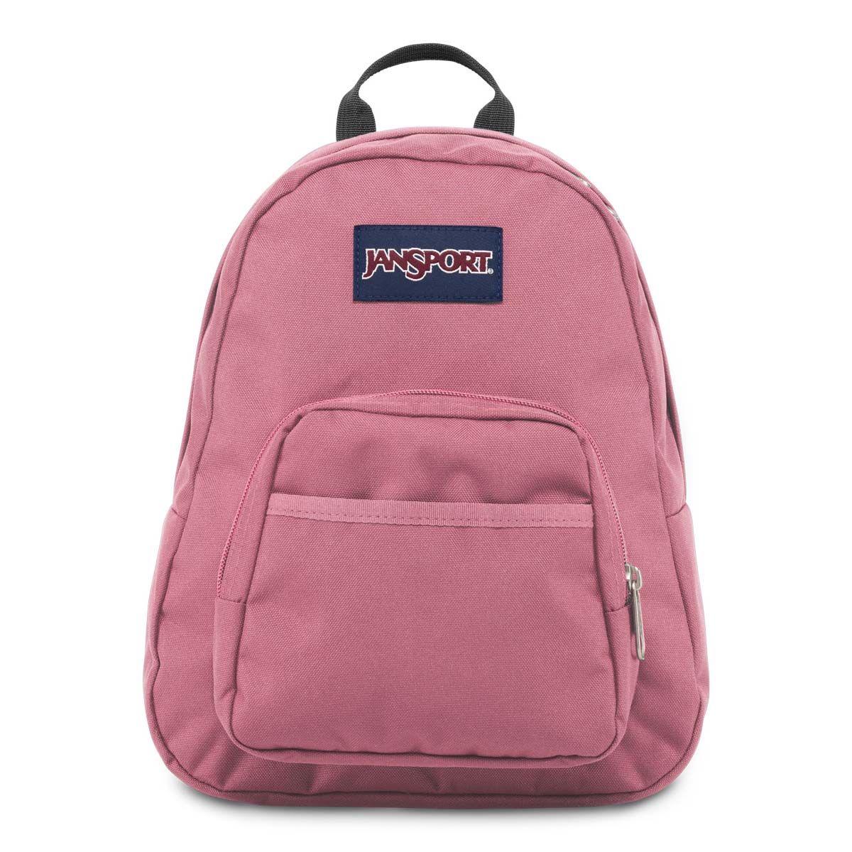 JanSport Half Pint Mini Backpack in Blackberry Mousse