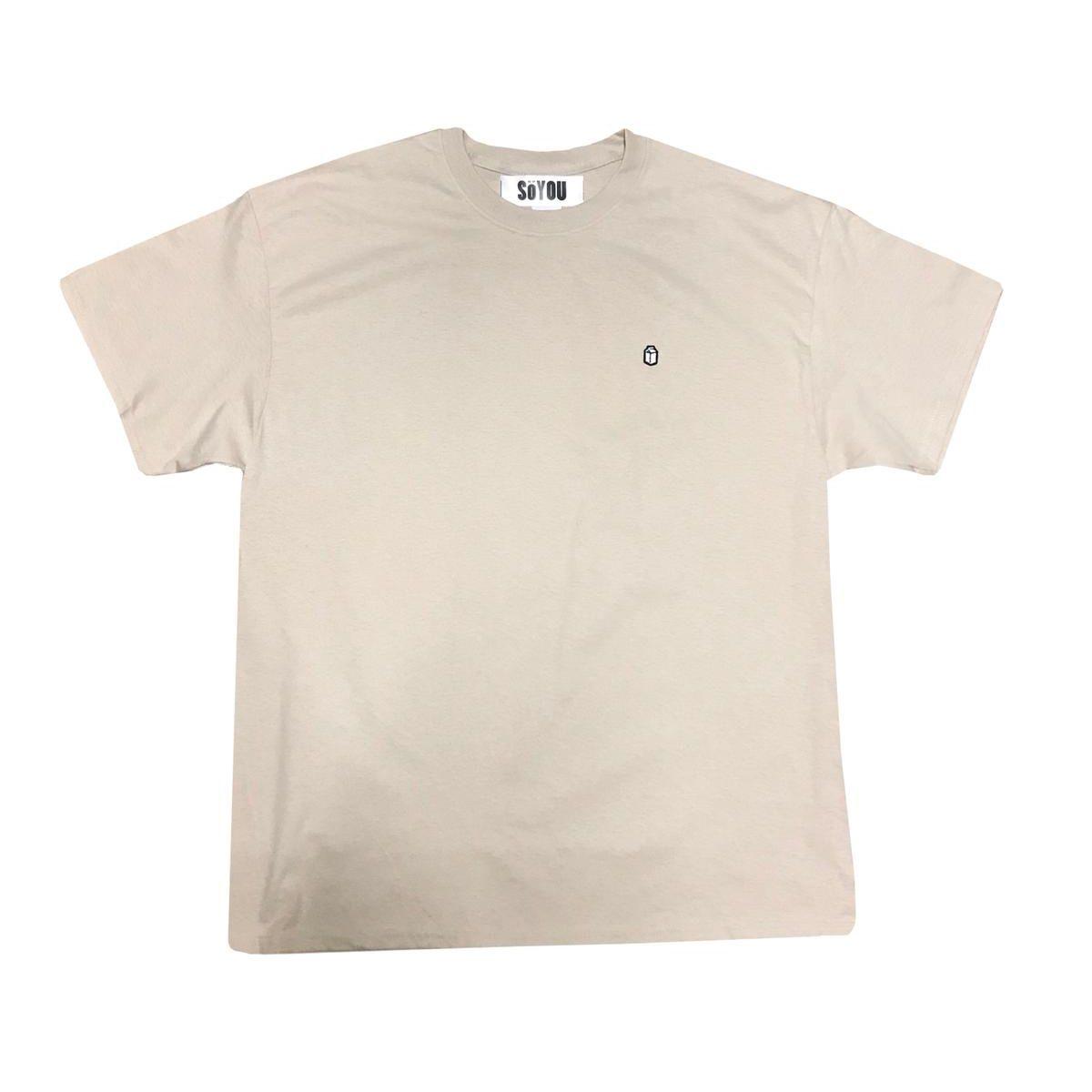SoYou Clothing Basics T-Shirt in Beige