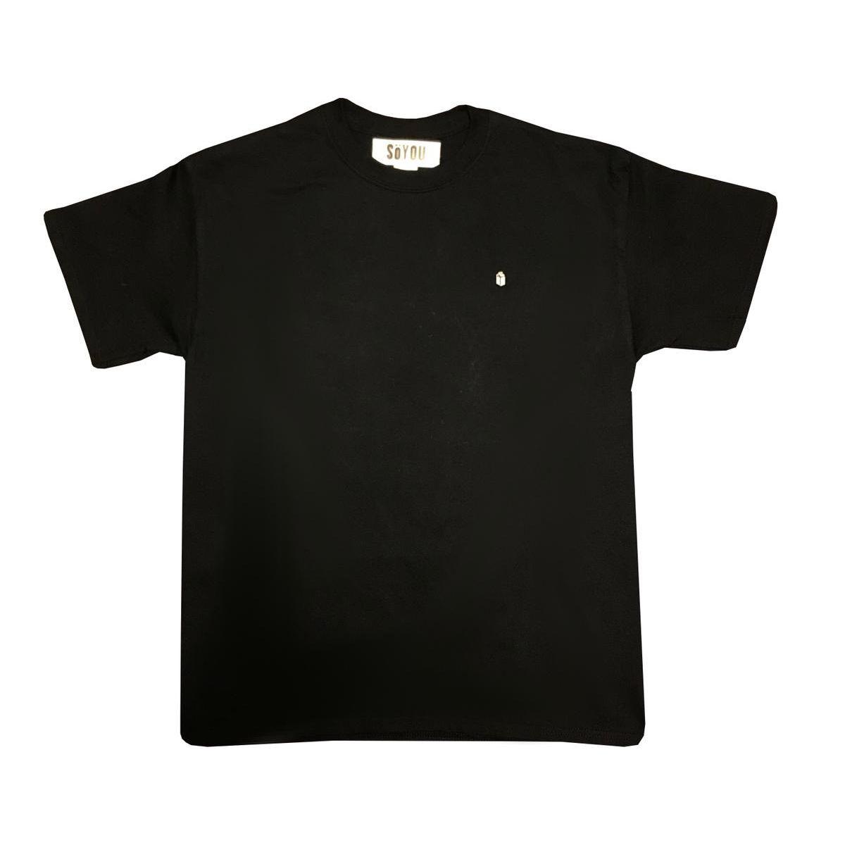 SoYou Clothing Basics T-Shirt in Black