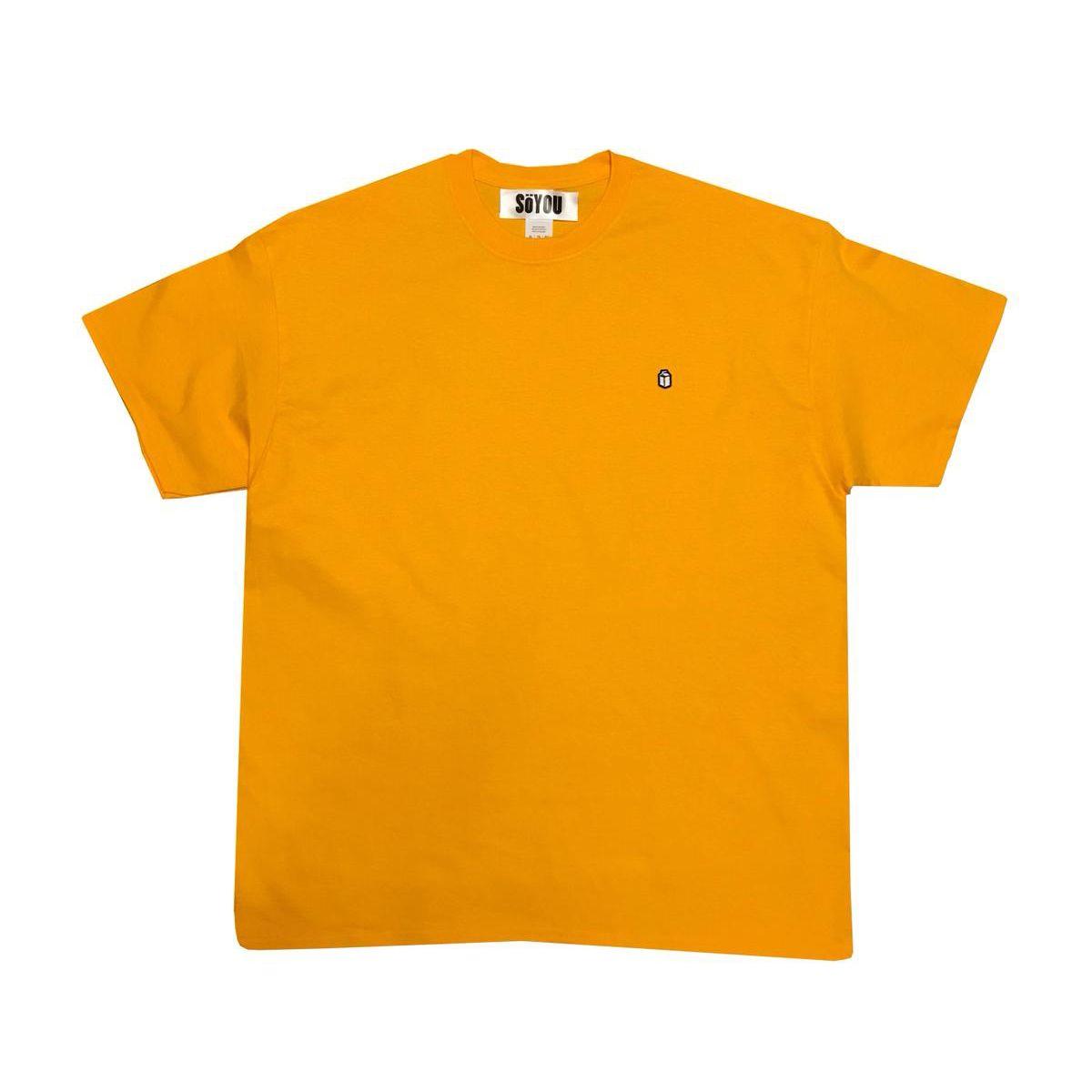 SoYou Clothing Basics T-Shirt in Tuscany Yellow