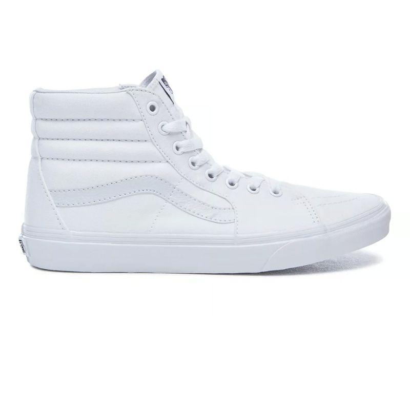 Vans Sk8-Hi en Vrai blanc