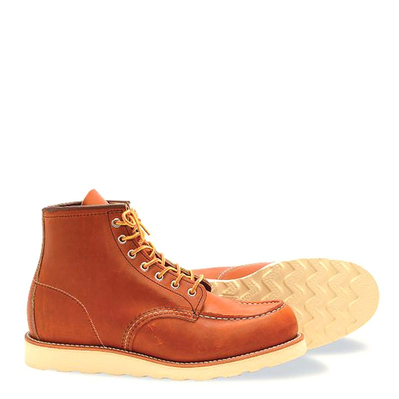 Red Wing Classic Moc Men's 6-inch Boot in Brown