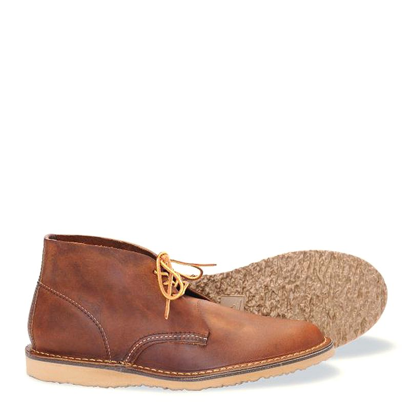 Red Wing Weekender Chukka Men's Boot in Copper