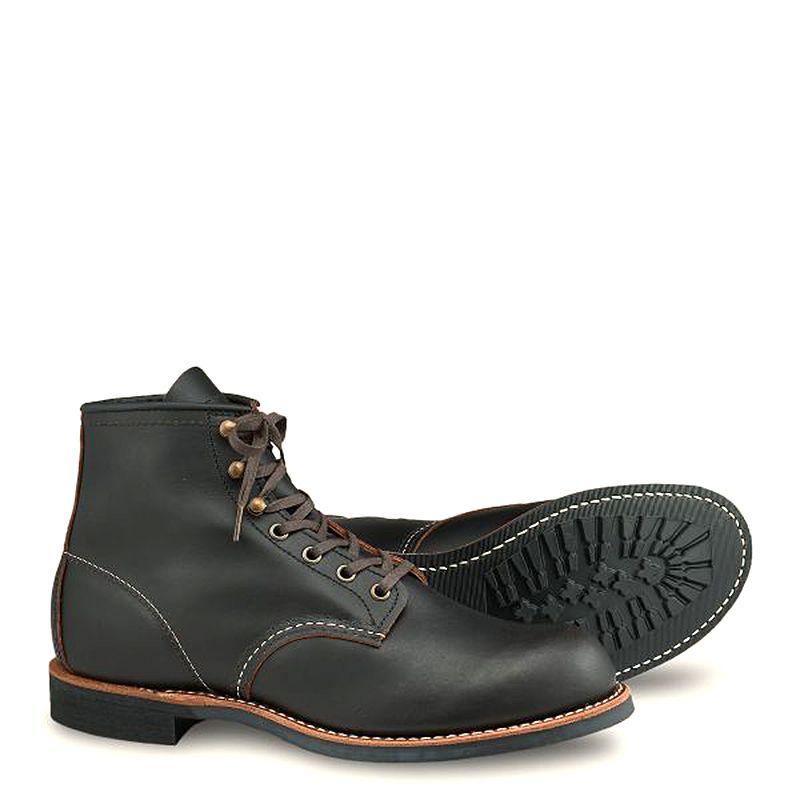 Red Wing Blacksmith Men's 6-inch Boot in Black