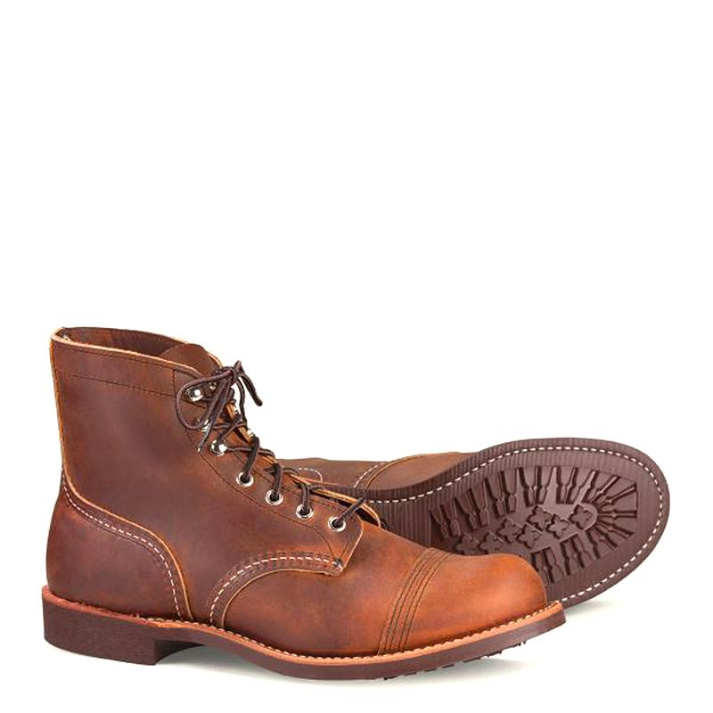 Red Wing Iron Ranger Men's 6-inch Boot in Copper