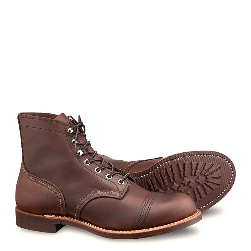 Red Wing Iron Ranger Men's 6-inch Boot in Amber