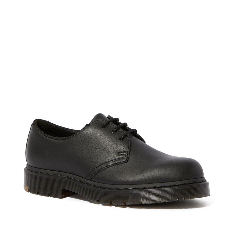 Dr. Martens 1461 Mono Slip Resistant Oxford Shoes in Black