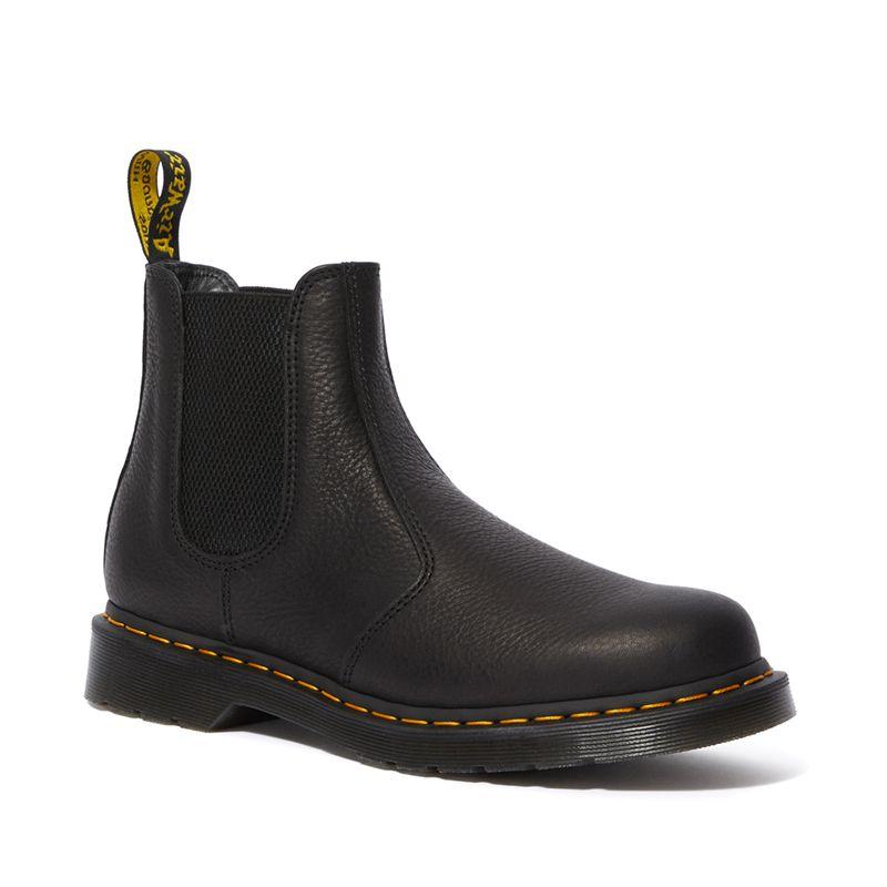 Dr. Martens 2976 Ambassador Leather Chelsea Boots in Black
