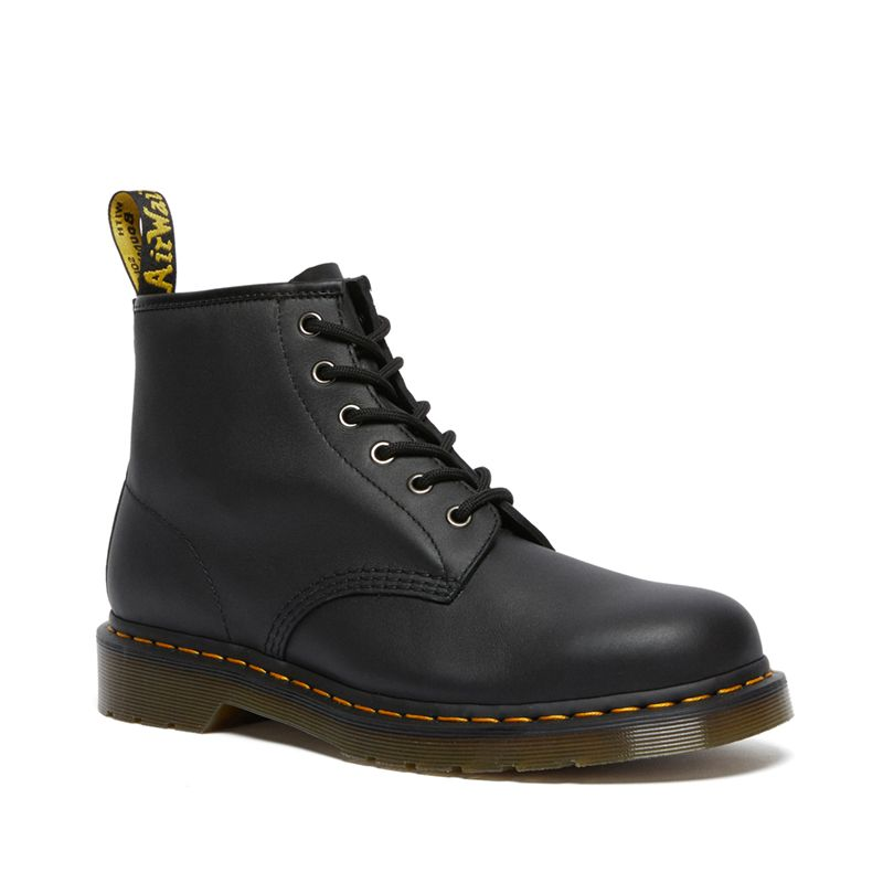 Dr. Martens 101 Leather Ankle Boots in Black