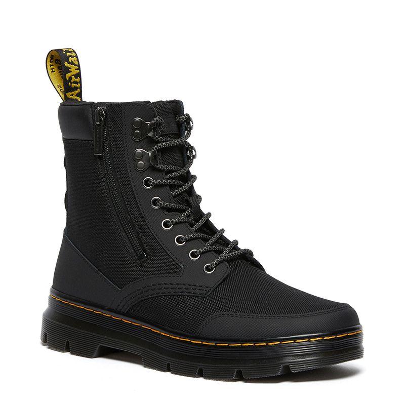 Dr. Martens Combs Zip Casual Boots in Black