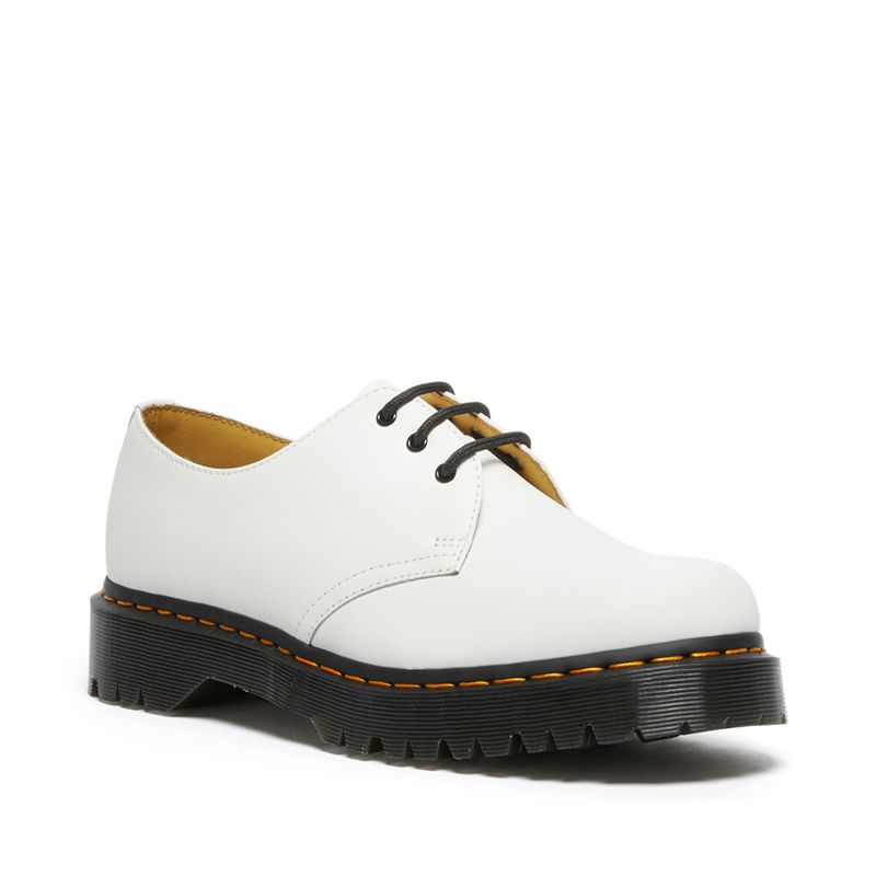 Dr. Martens 1461 Bex Smooth Leather Oxford Shoes in White