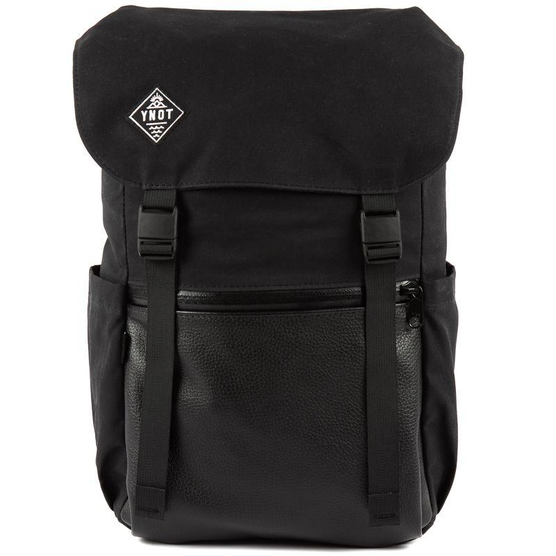YNOT Rucksack in Select Black