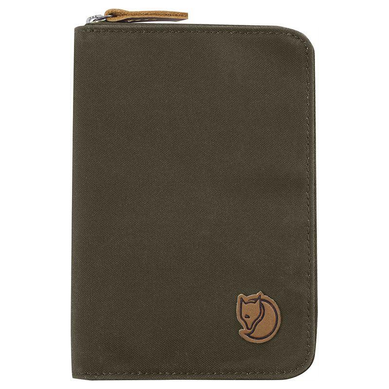Fjällräven Passport Wallet in Dark Olive