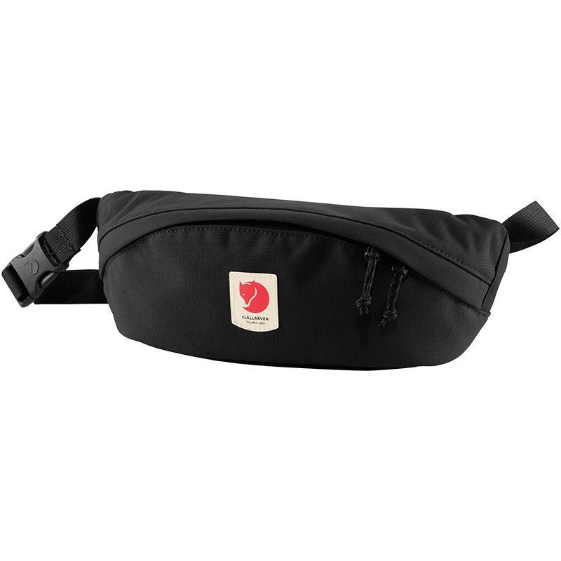 Fjällräven Ulvö Hip Pack Medium in Black