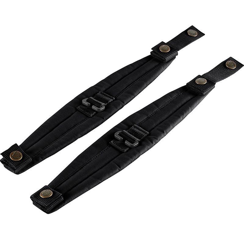 Fjällräven Kånken Shoulder Pads in Black