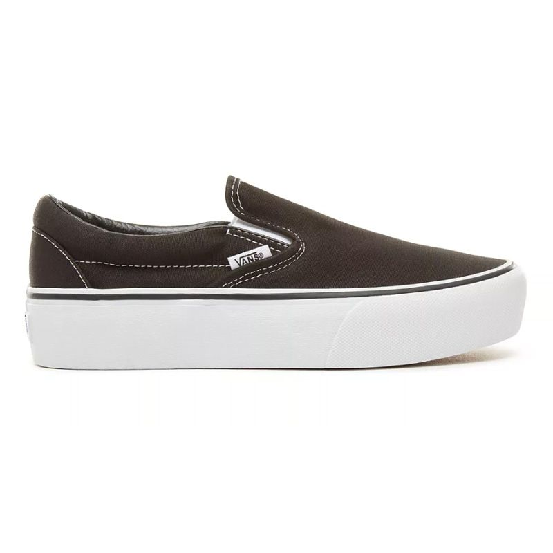 Vans Slip-On Platform in Black
