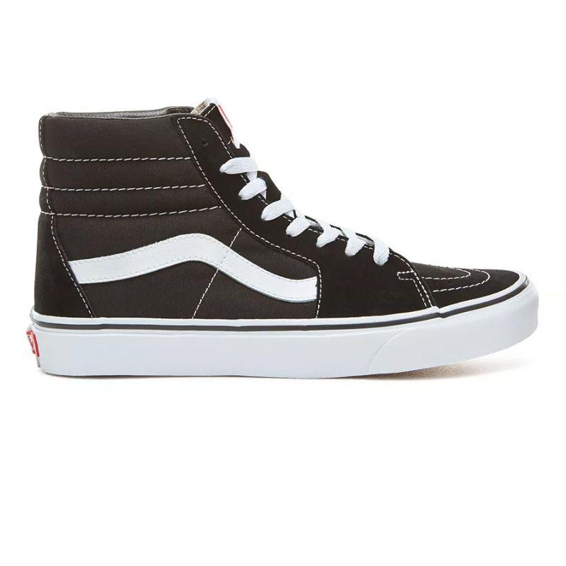 Vans Sk8-Hi in Black/Black/White