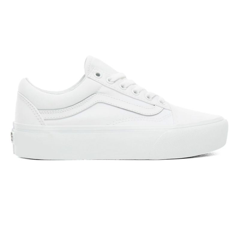 Vans Old Skool Platform in True White