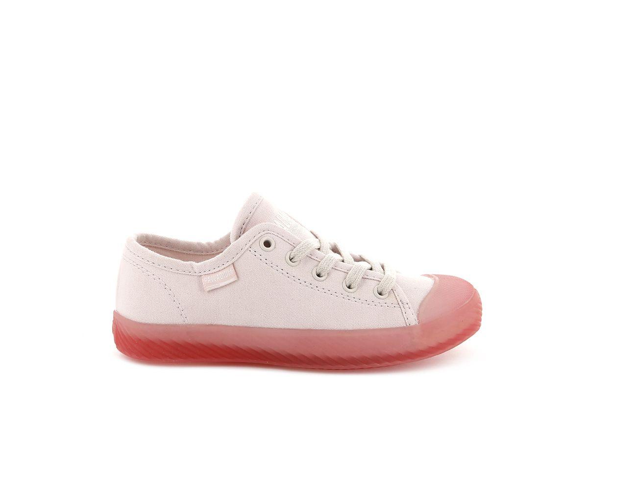 Palladium Pallaphoenix Lace Candy (Childrens) in Peach Blush