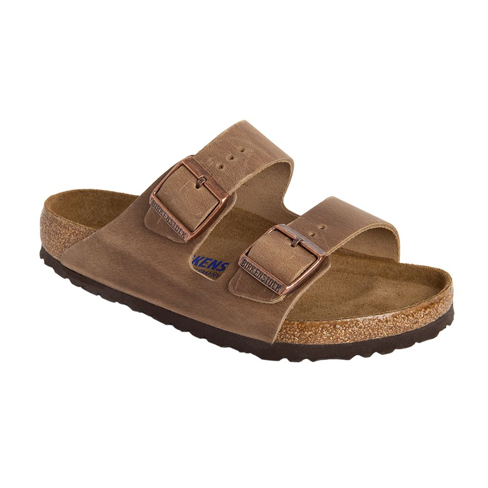 Arizona Soft Footbed Oiled Leather Regular in Tobacco Brown