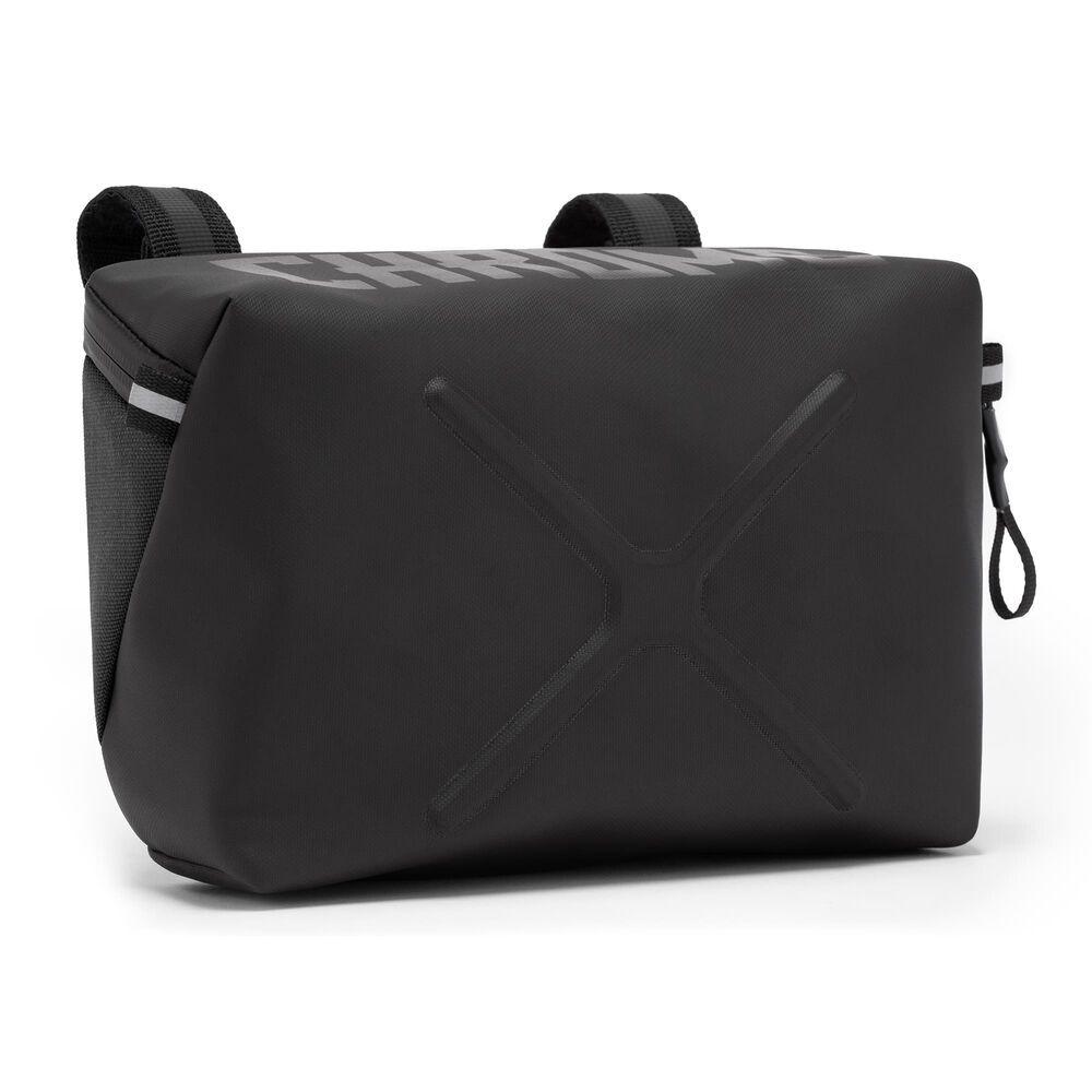 Chrome Industries Helix Handblebar Bag in Black