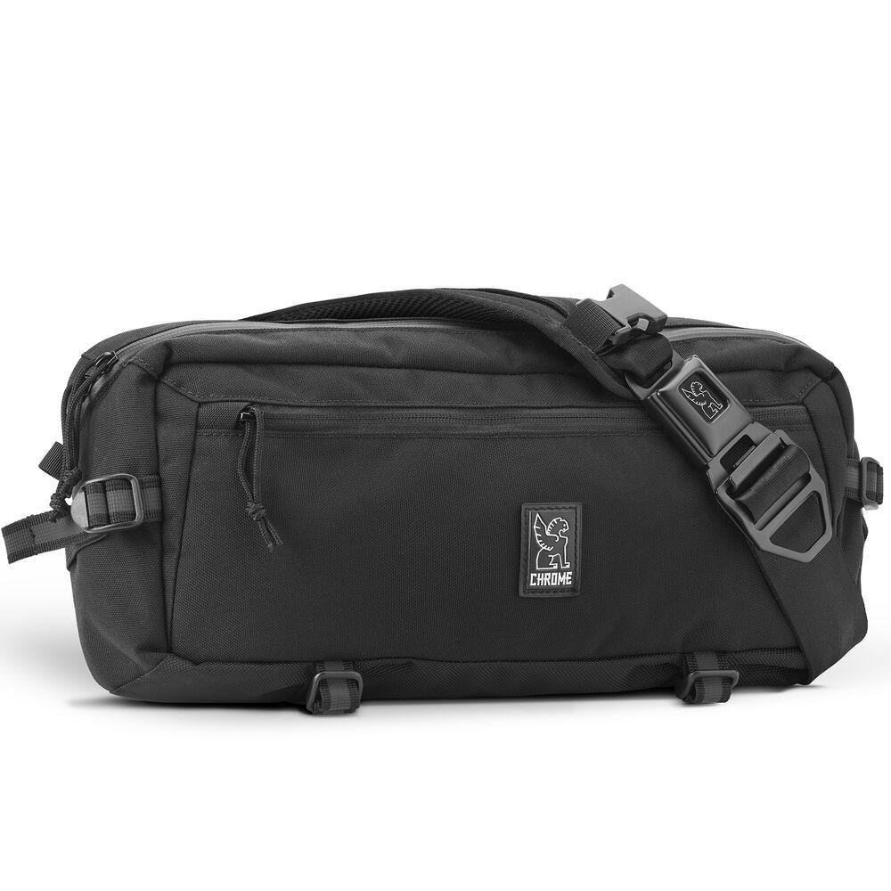Chrome Industries Kadet Sling Bag in Black/Aluminum