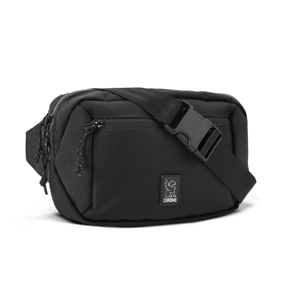 Chrome Industries Ziptop Waistpack in Black