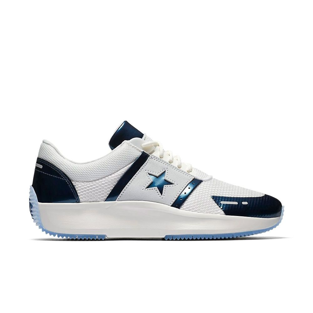 Converse Run Star Y2K Low Top in Vintage White/Obsidian/Pure Platinum