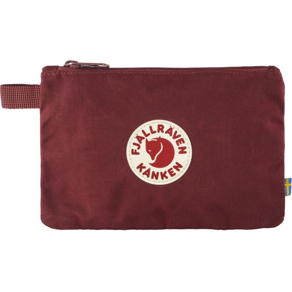 Fjällräven Kånken Gear Pocket in Ox Red
