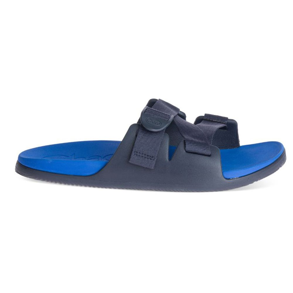Chaco Men's Chillos Slide in Active Blue